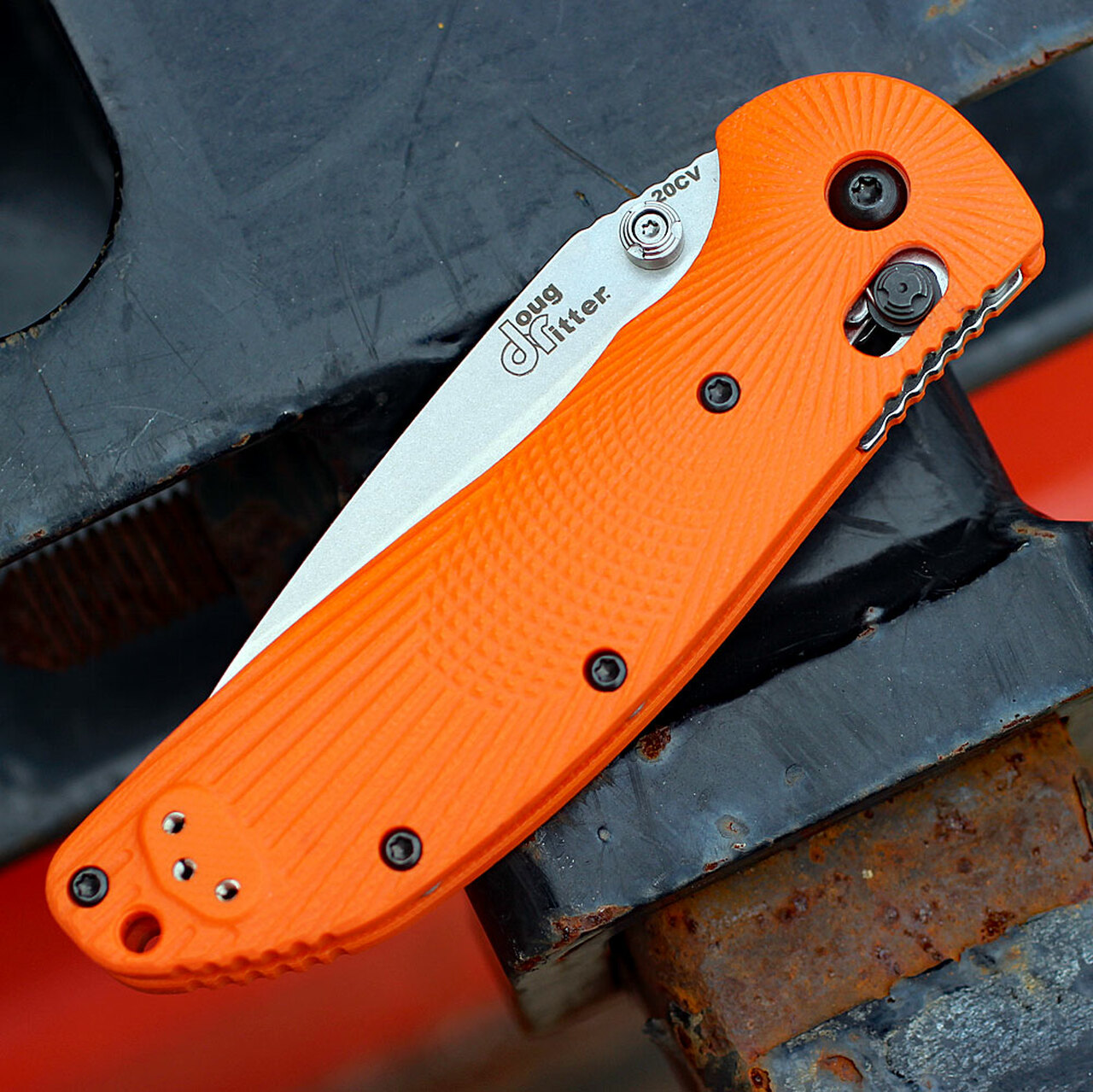 Doug Ritter RSK®  MK1-G2 Knifeworks Exclusive-Orange G-10
