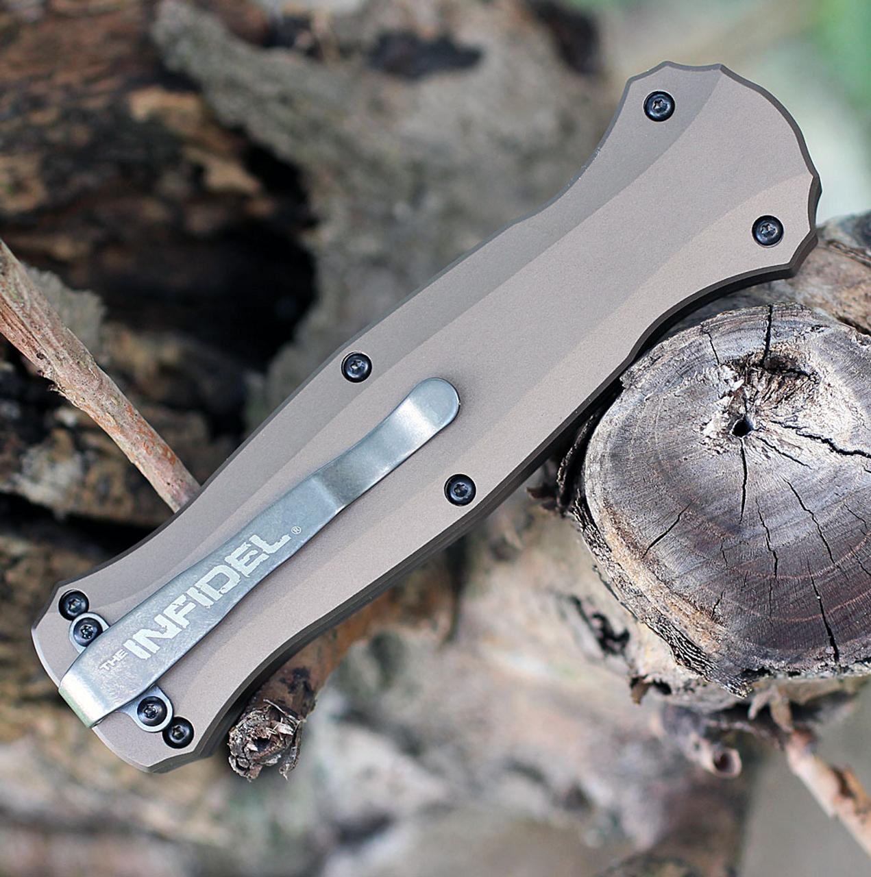 "Benchmade 3300BK-1901 Infidel, 3.91"" CPM-S30V Black Blade, Aluminum Handle -Limited Edition"