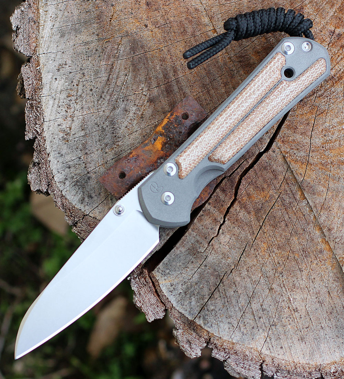 Chris Reeve Small Sebenza 21 Insingo Blade, Natural Canvas Inlays (S21-1264)