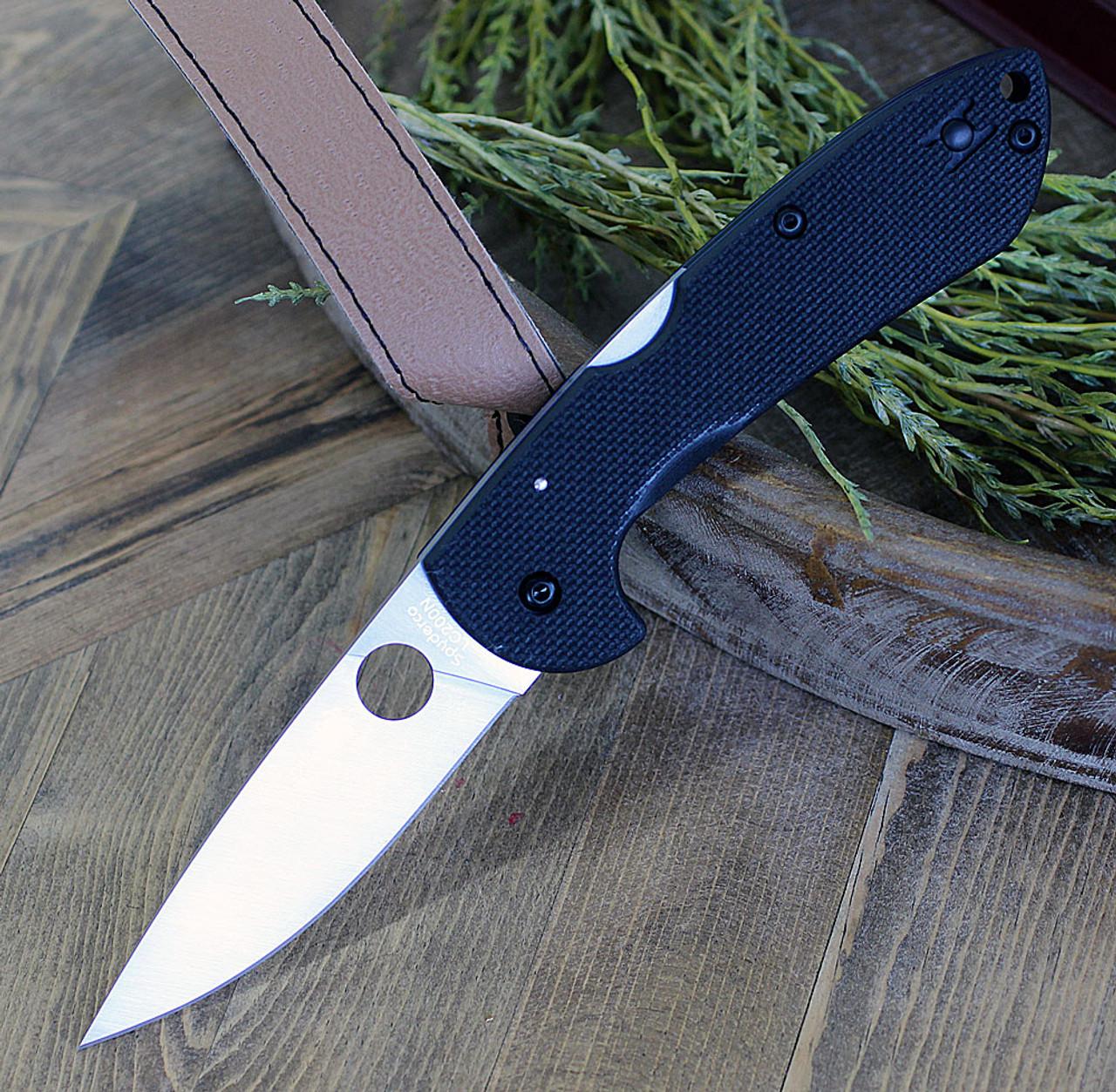 """Spyderco Siren C247GP, 3.61"""" Blade LC200N Steel, G-10Handle"""
