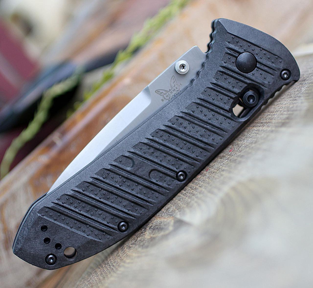 "Benchmade 570-1 Presidio II, 3.72"" CPM-S30V Satin Plain Blade, CF-Elite Handle"