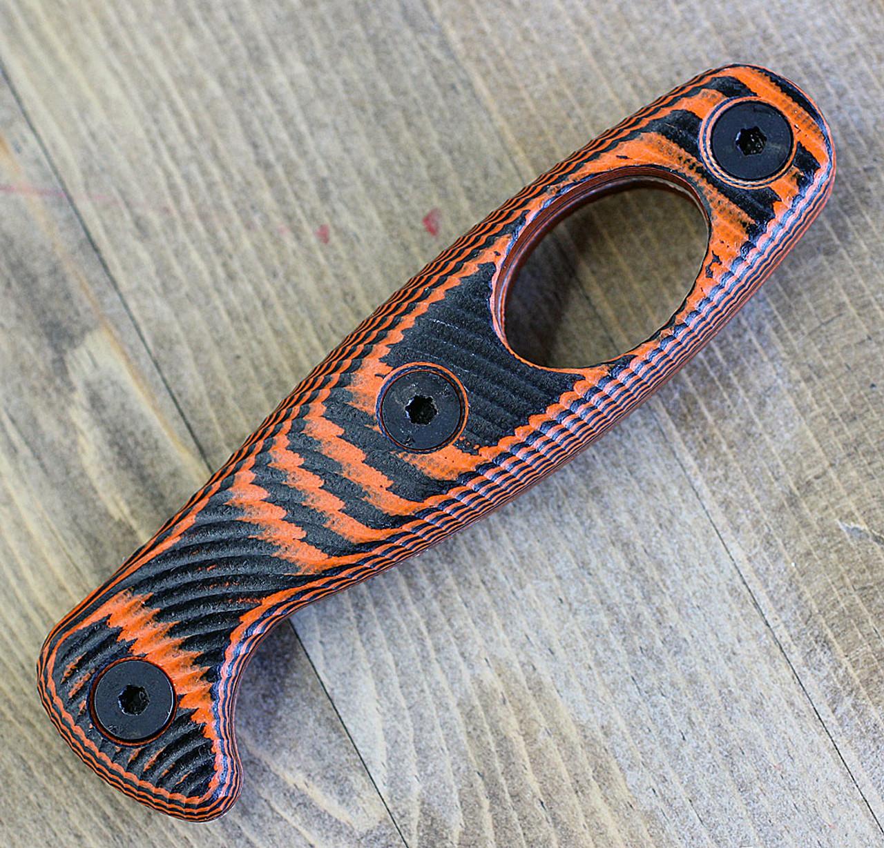 ESEE Xancudo Orange / Black G-10 3D Handle