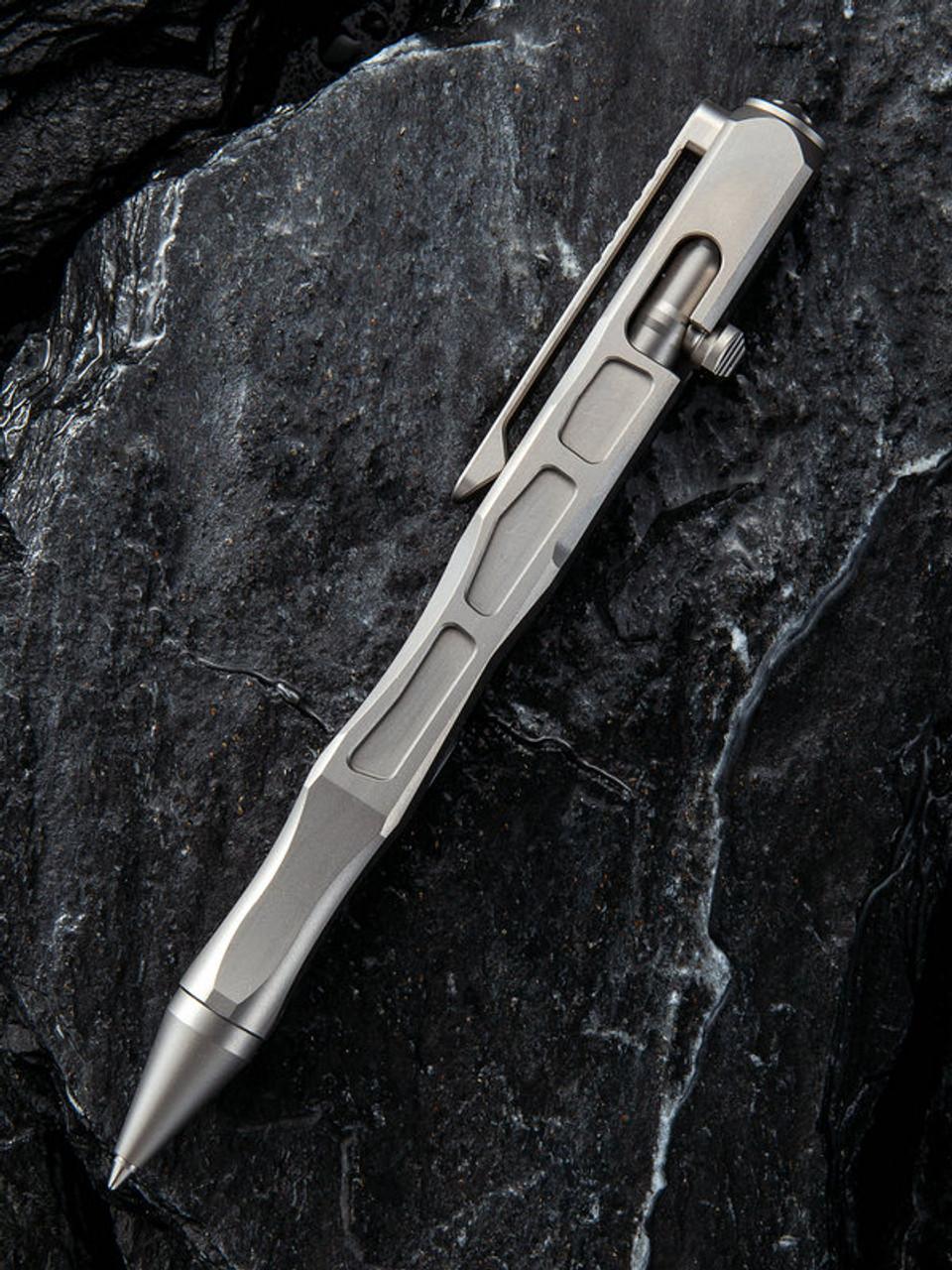 We Knife TP-03B Titanium Pen, Titanium