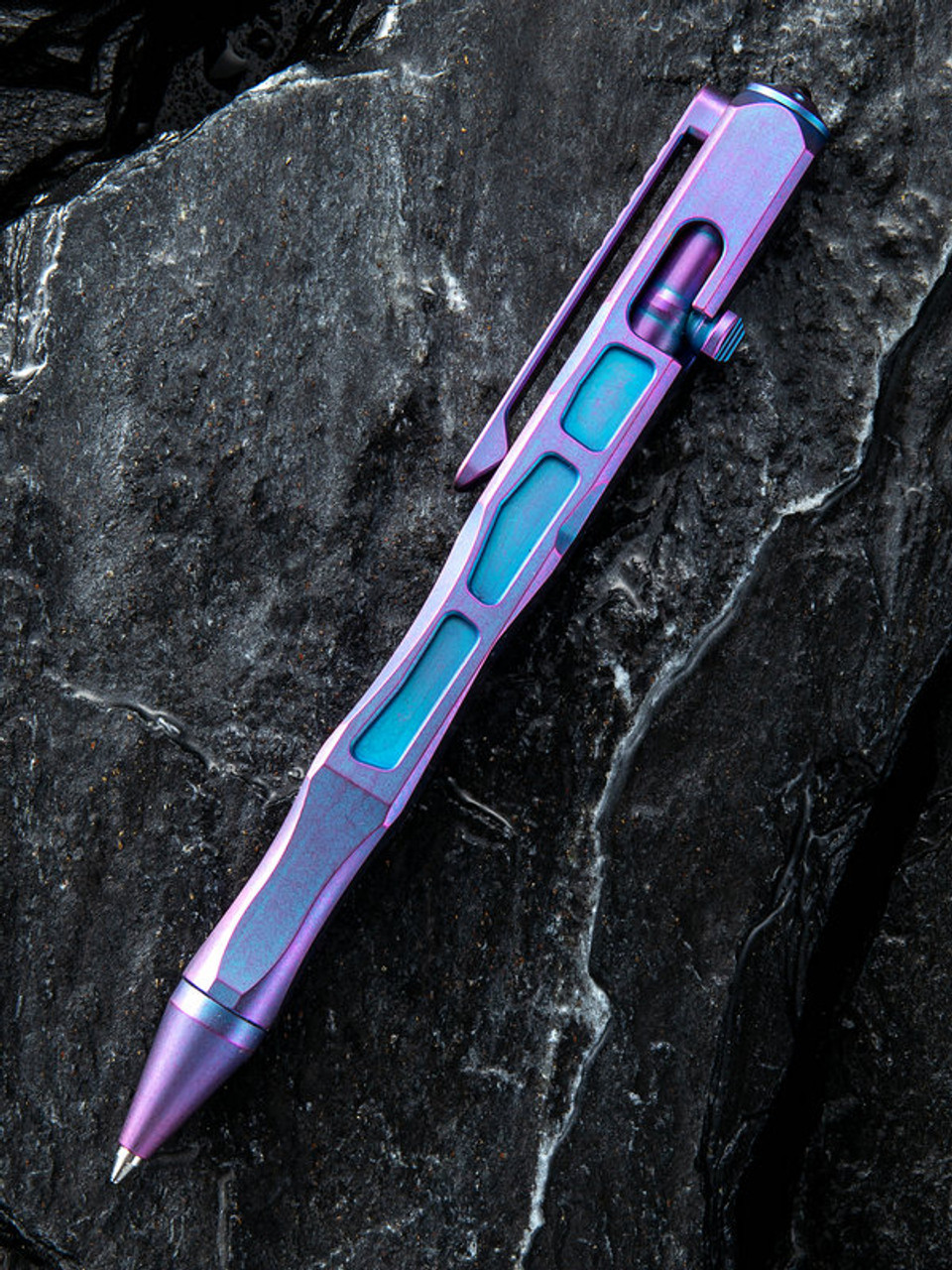 We Knife TP-03A Titanium Pen, Purple