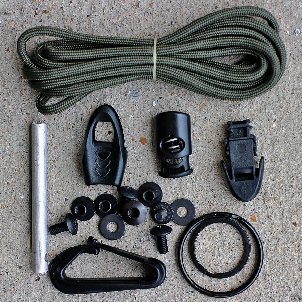 ESEE IZULA Survival Kit & Concealed Carry Knife, Desert Tan No Box