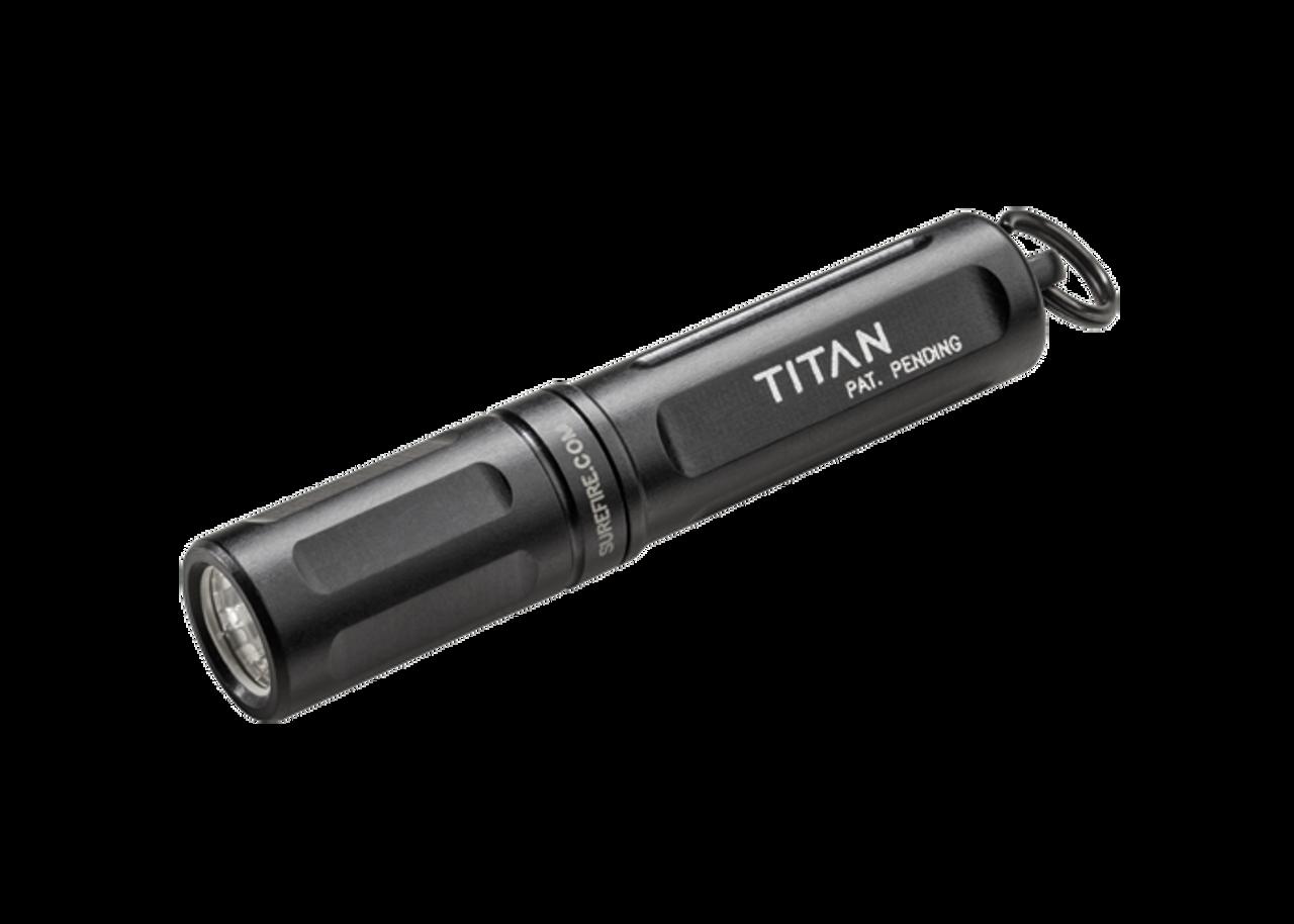 SurefireTitan-A Ultra-Compact LED Keychain Light, 15/125 Lumen, AAA Batery