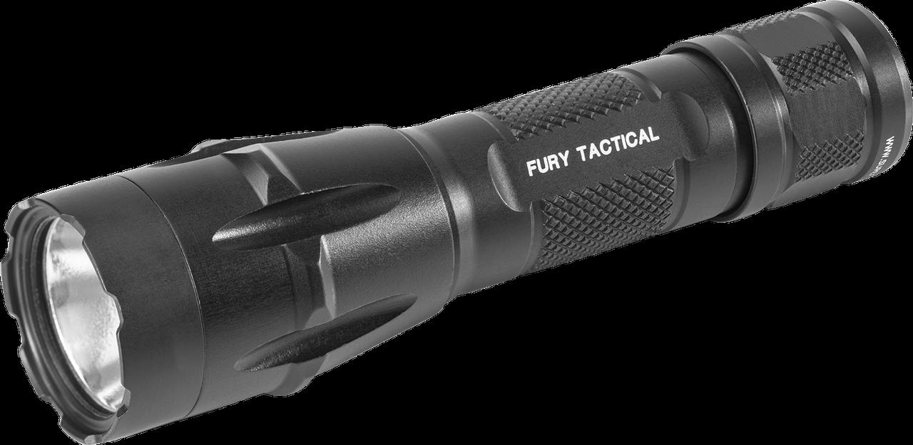 Surefire Fury-DFT Dual Fuel Tactical Led Flashlight, 6V 1500LU, Aluminum Black Type III