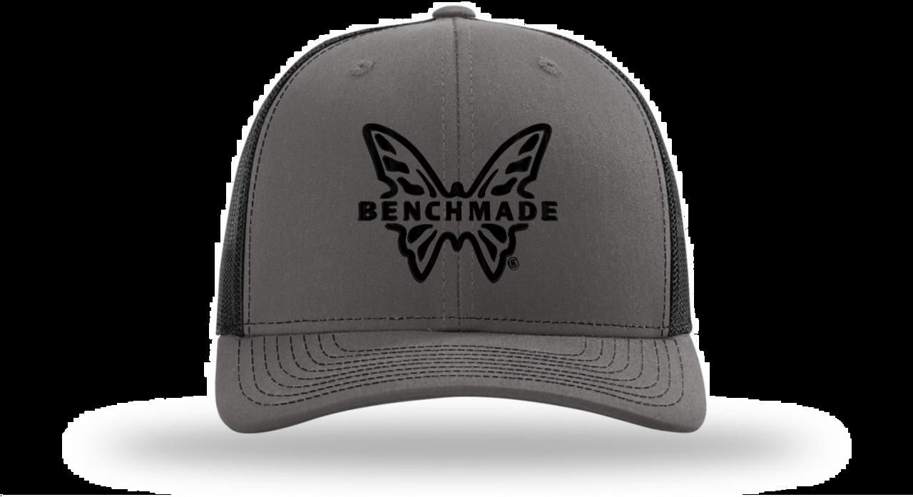Benchmade Favorite Trucker Hat, Charcoal/Black Mesh