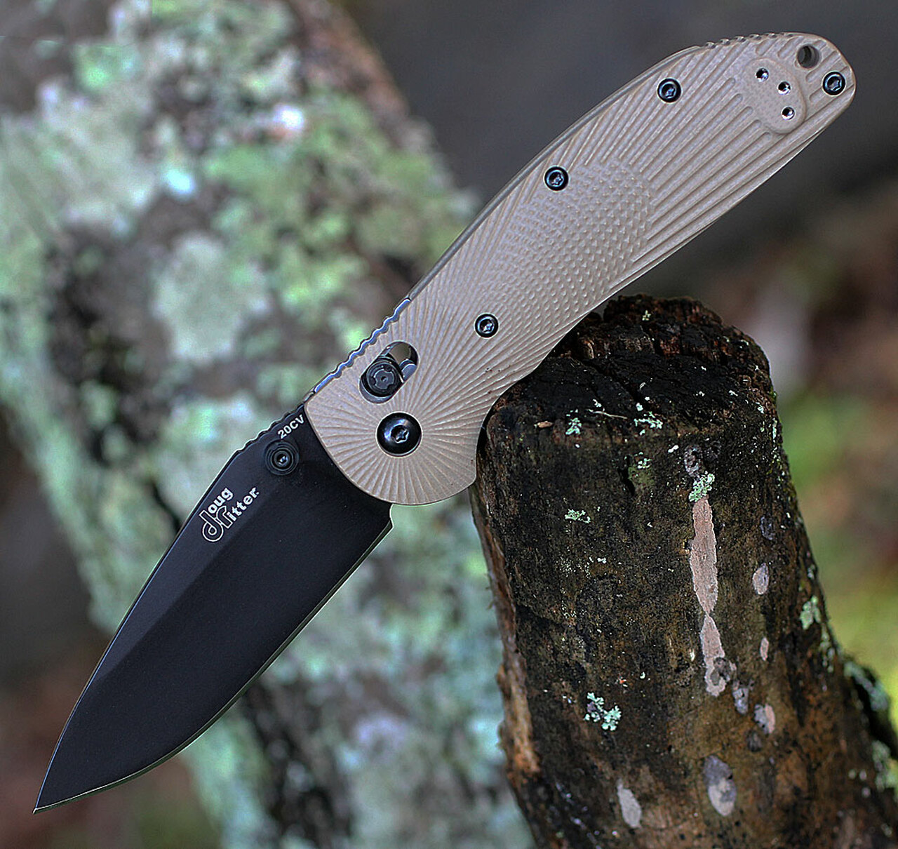 Doug Ritter RSK® MK1-G2 Knifeworks Exclusive - Flat Dark Earth/ Black, DR54183