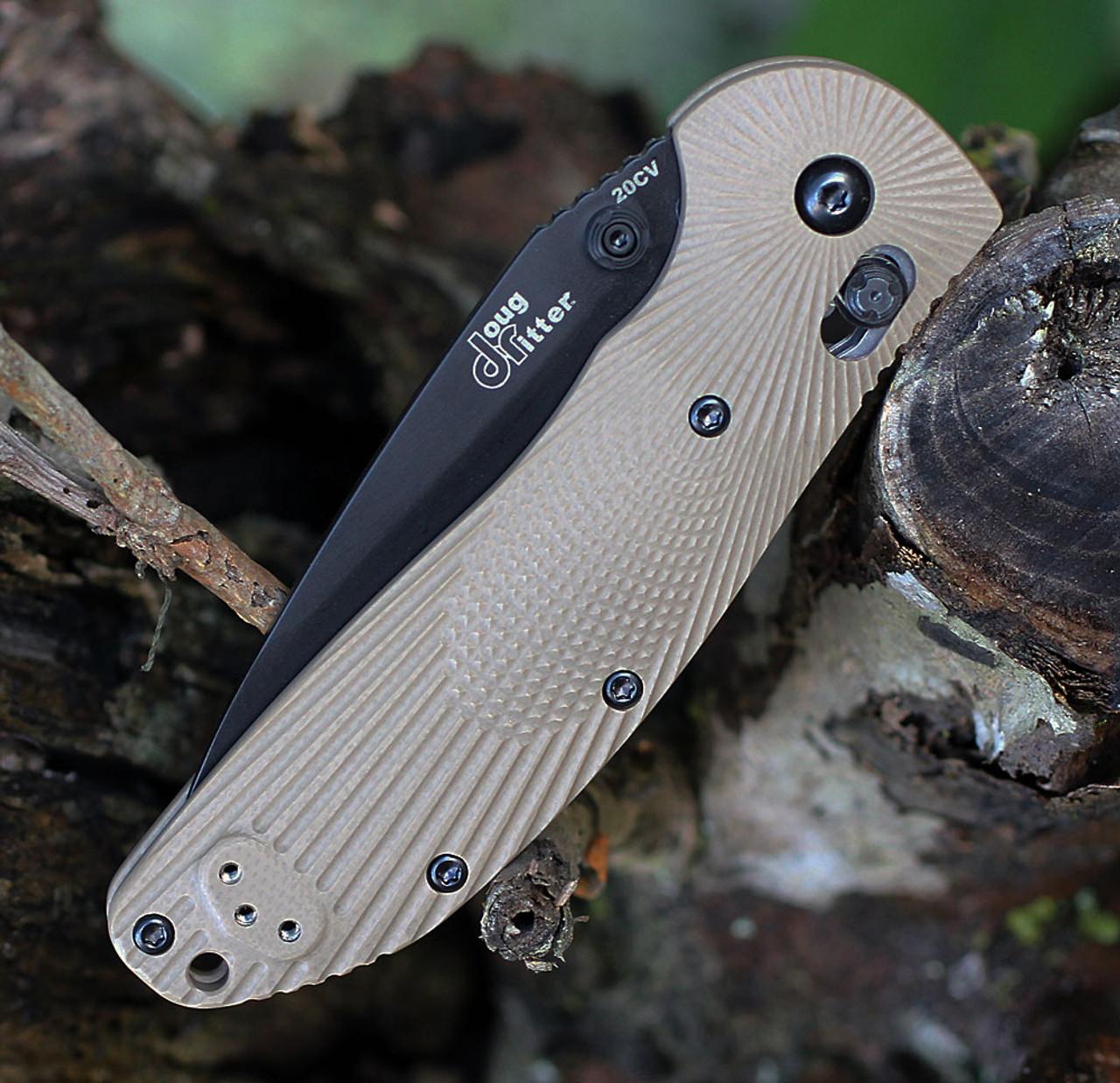 Doug Ritter RSK® MK1-G2 Knifeworks Exclusive - Flat Dark Earth/ Black, DR54183