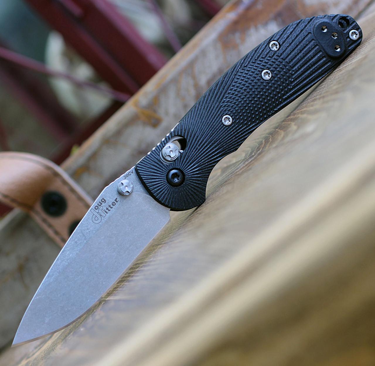 Doug Ritter Mini-RSK®  MK1-G2 Knifeworks Exclusive - Black / Stonewashed