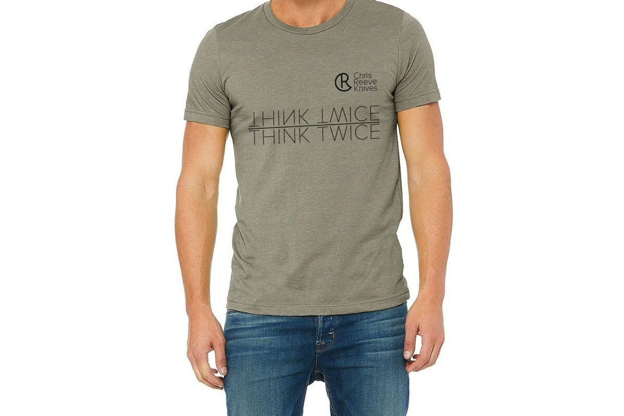 Chris Reeve Knives  CRK T-Shirt, Green, Large