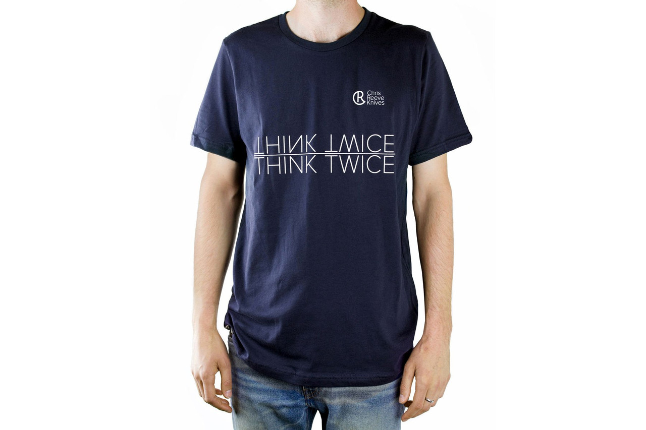 Chris Reeve Knives  CRK T-Shirt, Navy, Small