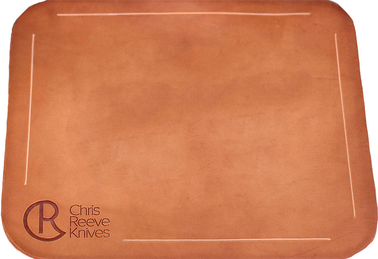 Chris Reeve Knives Leather Work Mat