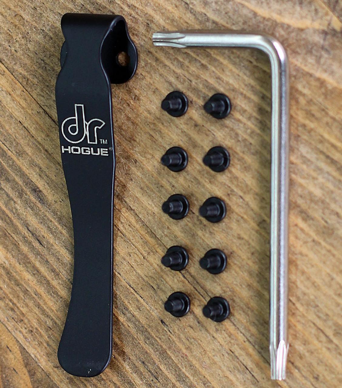Doug Ritter 54170-EXLRSK Survival Knife Torx Screw & Clip Kit, Black