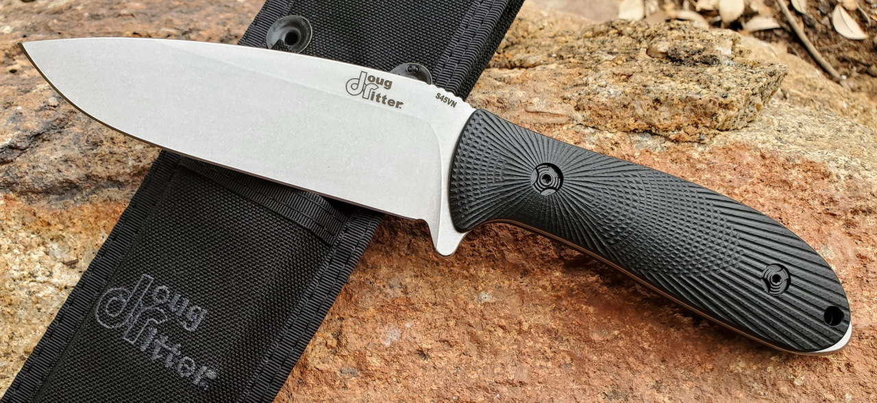 Doug Ritter RSK® Mk3-G2 - Knifeworks Exclusive - Black / Stonewashed CPM-S45VN