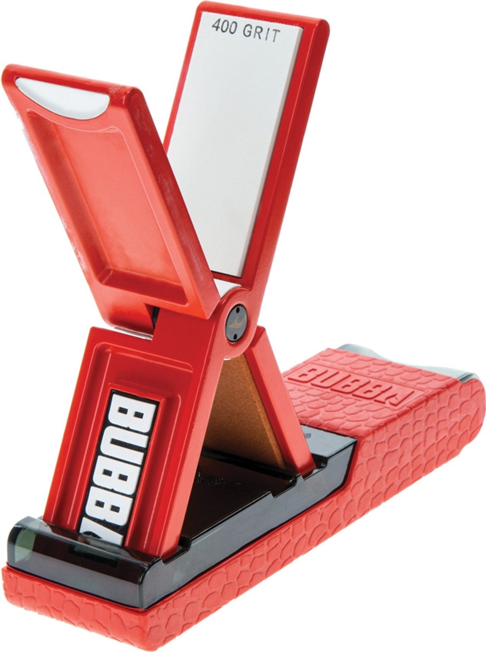Bubba Blade Altus Portable Knife Sharpener, 180 and 400 Grit Stone