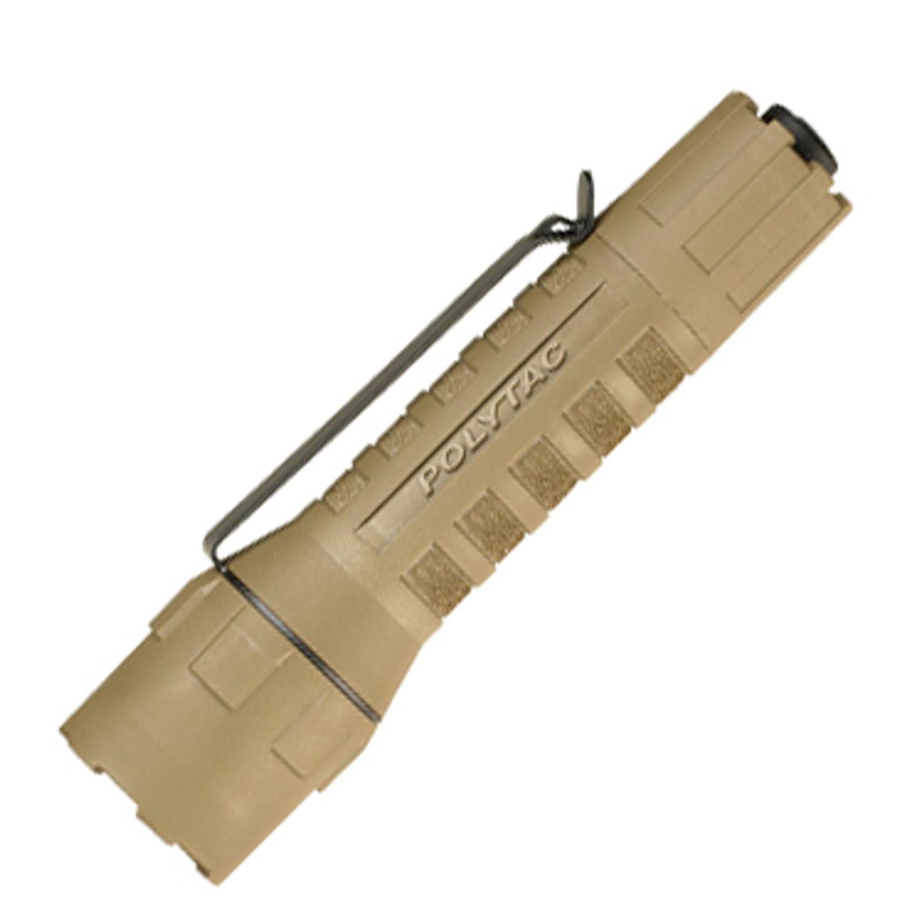 Streamlight PolyTac Tactical Flashlight 88851, C4 LED Light, 600 Max Lumens, Coyote