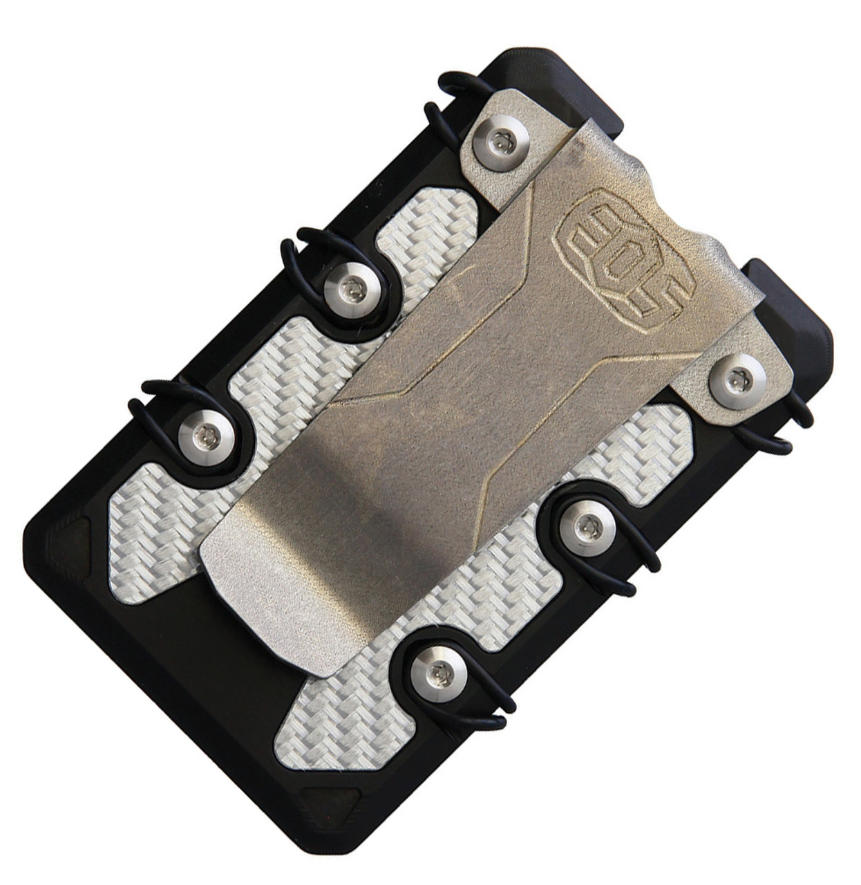 EOS 3.0 Lite Wallet EOS069, Aluminum Construction, Silver Anodized Hardware