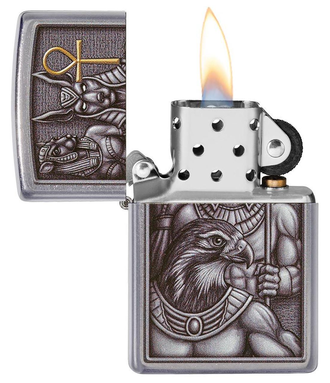 Zippo 49406-000003 Egyptian Gods Design Lighter