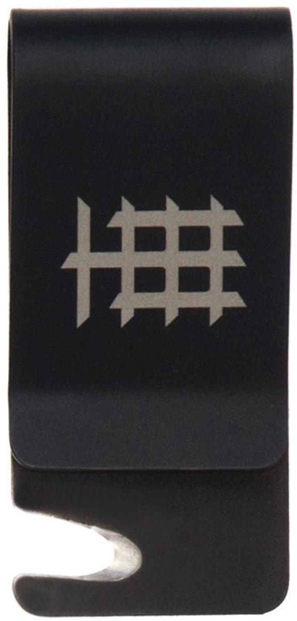 "Halfbreed Blades Cash & Card Clip CCC-01, 2.12"" Black Titanium Clip"