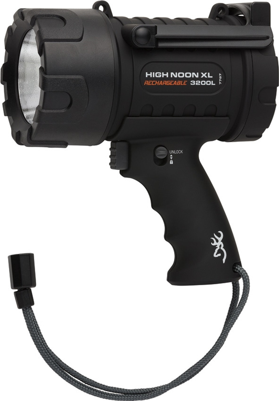 Browning High Noon XL Rechargeable Spotlight w/ Lanyard