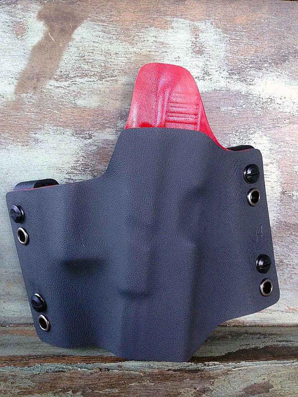 Concealment Muzzle Commander, Right Hand Glock 17, 22, 31, 19, 23, 32-Black