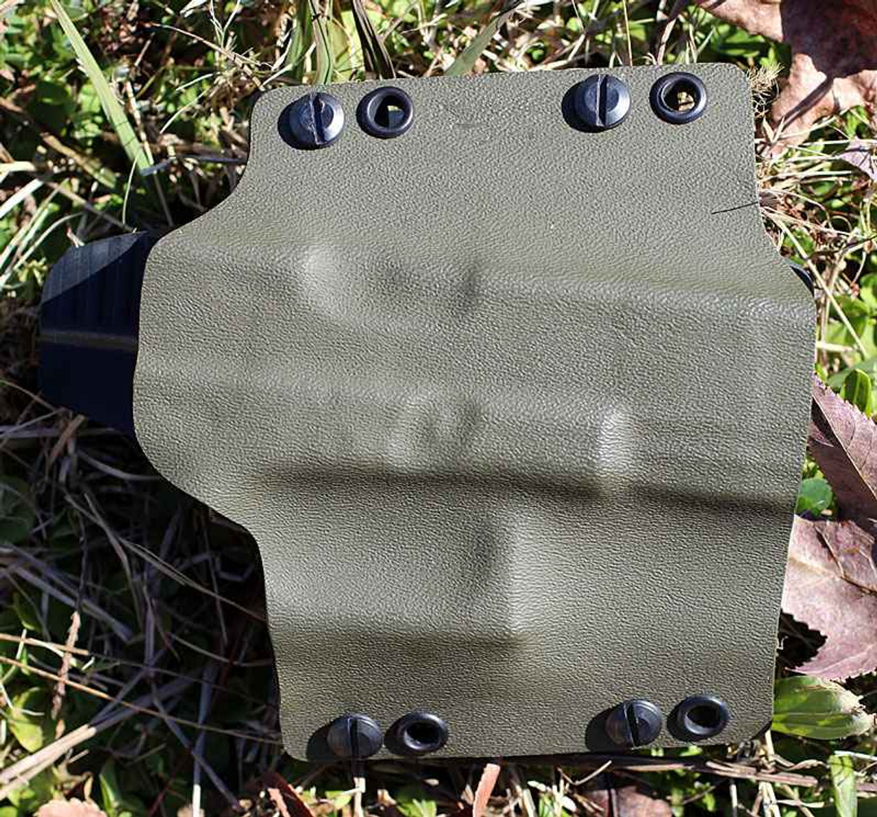 Concealment Muzzle Commander, Right Hand Glock 17, 22, 31, 19, 23, 32-OD Green