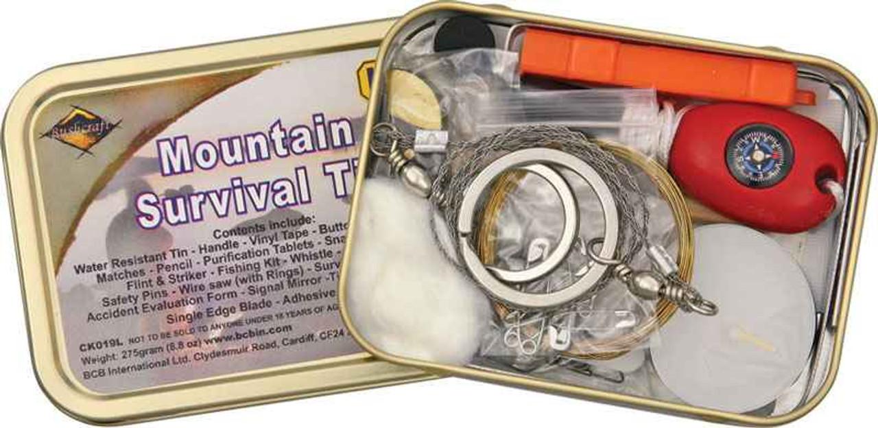 Bushcraft Mountain Survival Kit