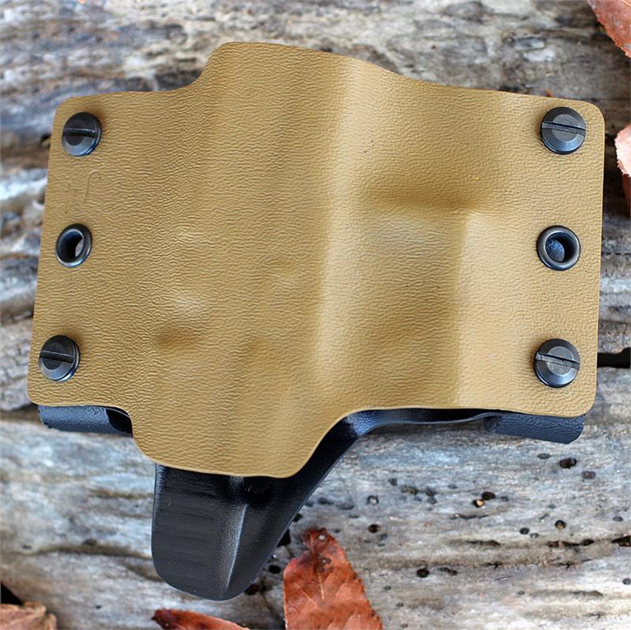 Concealment Muzzle Commander, Right Hand Glock 42-Coyote Brown