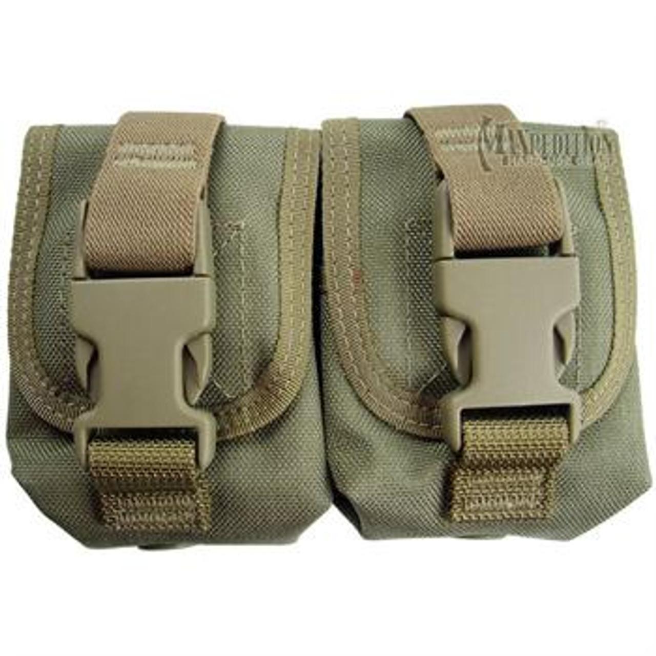 Maxpedition Double Frag Grenade Pouch| Color| Khaki