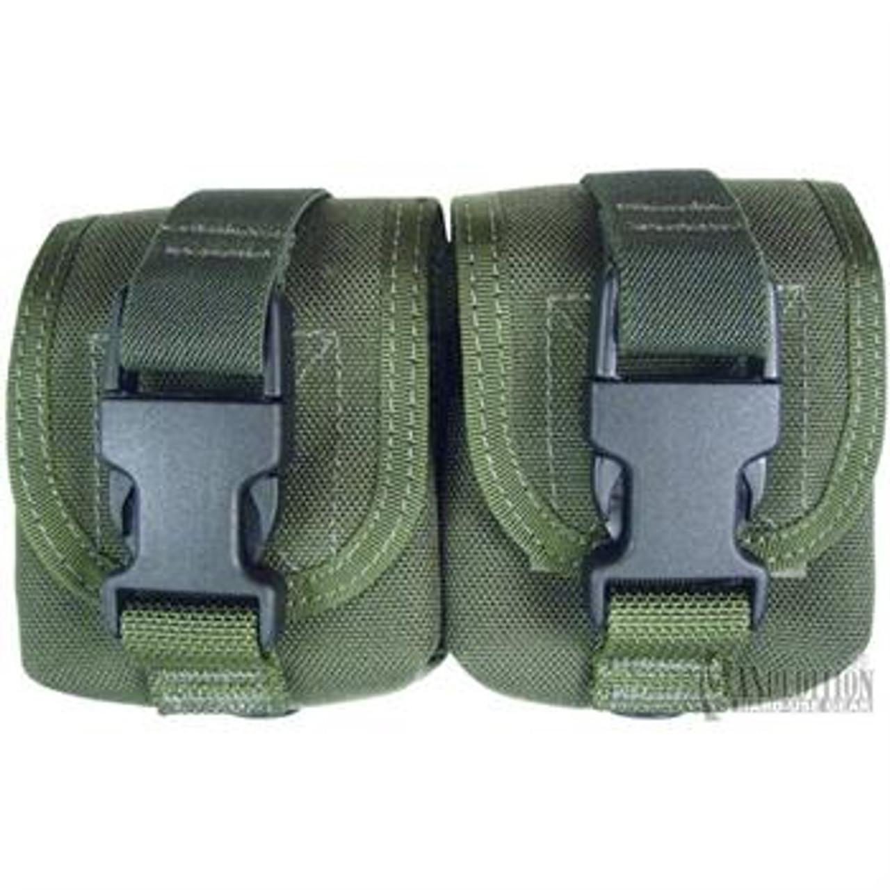 Maxpedition Double Frag Grenade Pouch| Color| Green