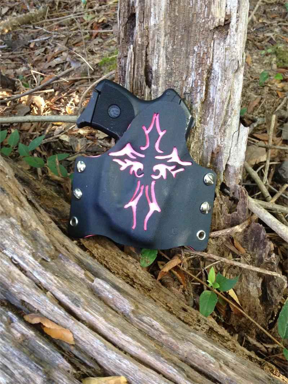 Concealment Custom Commander1, Right Hand, Ruger LCP w/C.T. Laser-Pink
