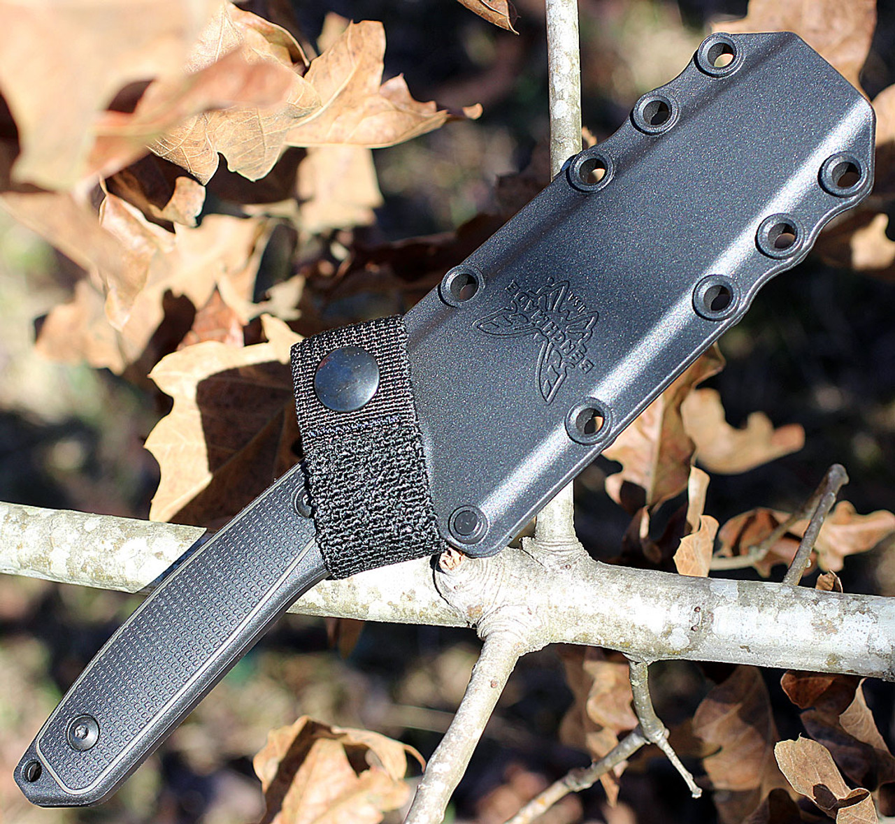 Benchmade Protagonist 167SBK, 154CM Black Tanto Combo Blade, Grivory Handles-Discontinued