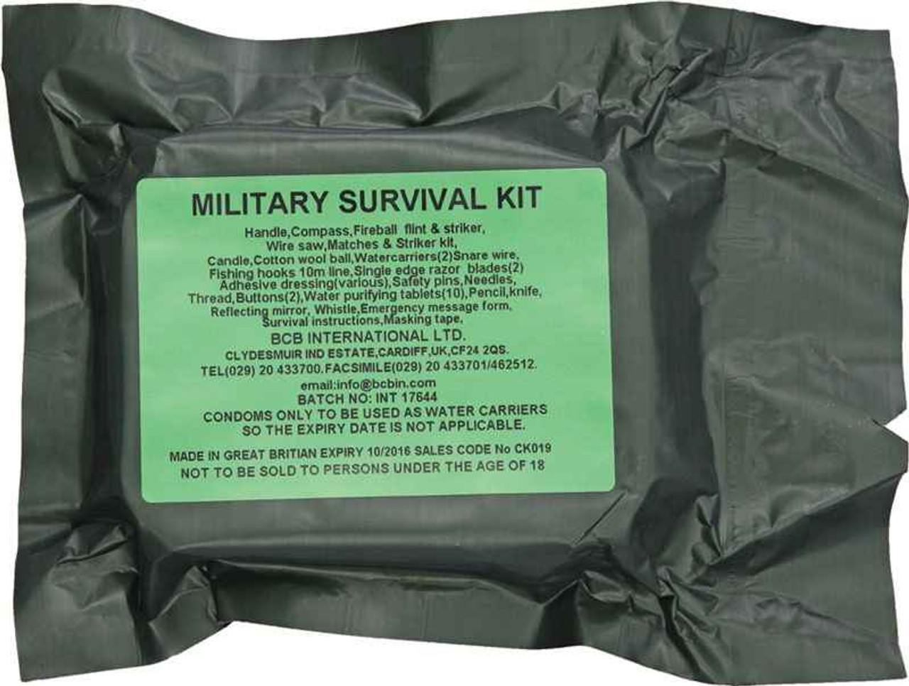 Bushcraft Military Survival Kit