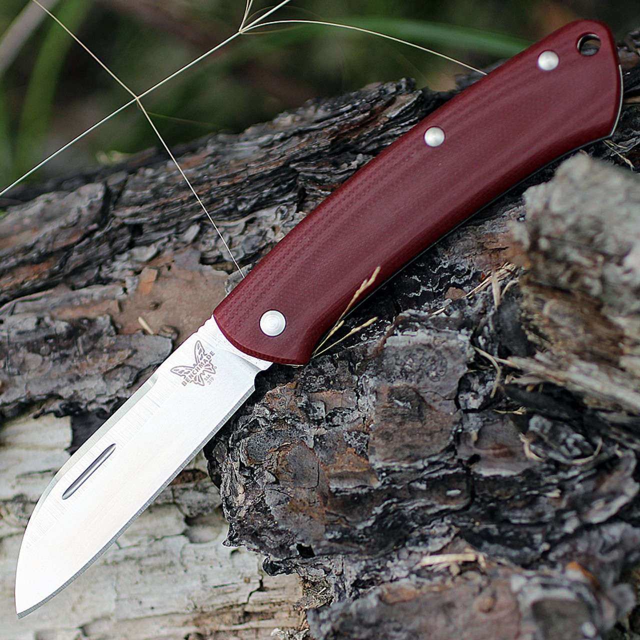 "Benchmade BM319-1 PROPER, 2.86"" CPM-S30V SS Plain Blade, G10 Handles"