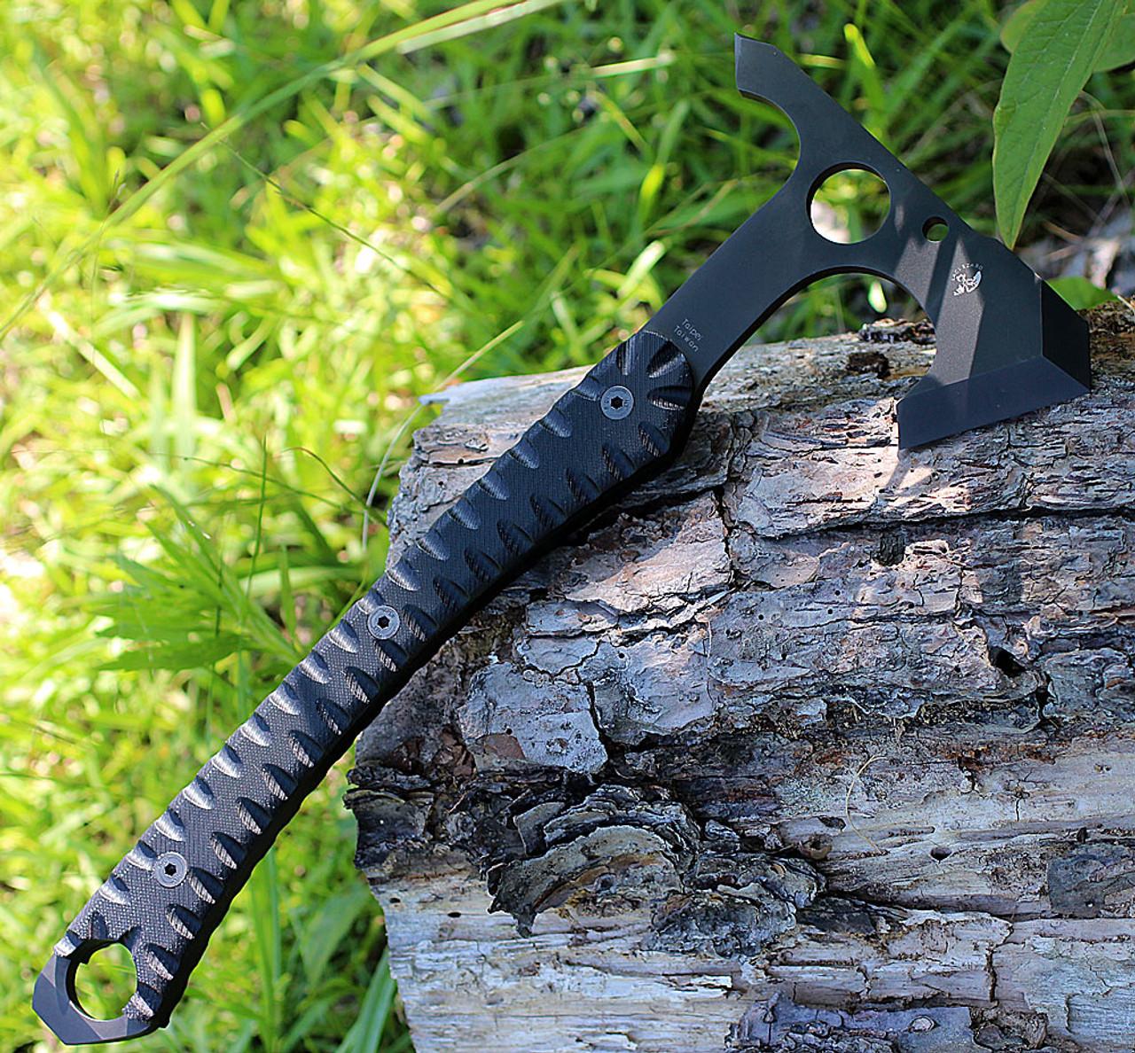 Spyderco Warrior Hawk H03, 2.19 in D2 Steel, G-10 Handle