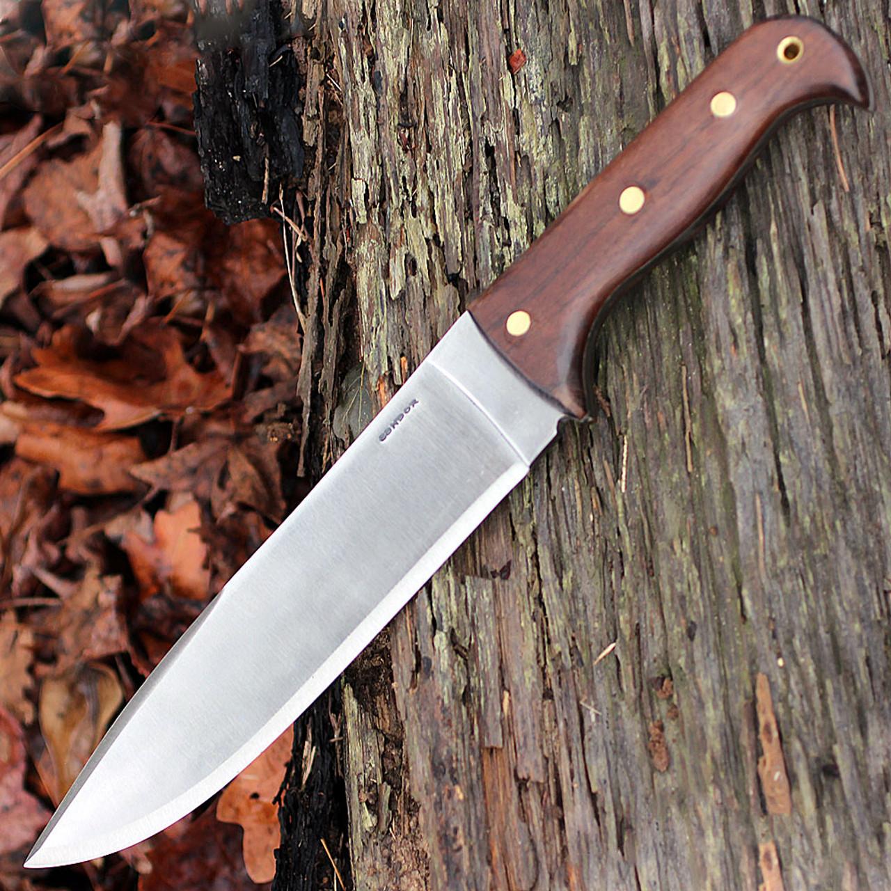 "Condor 2359HC Moonshiner Knife, 9"" 1075 Plain Blade, Hardwood Handle"