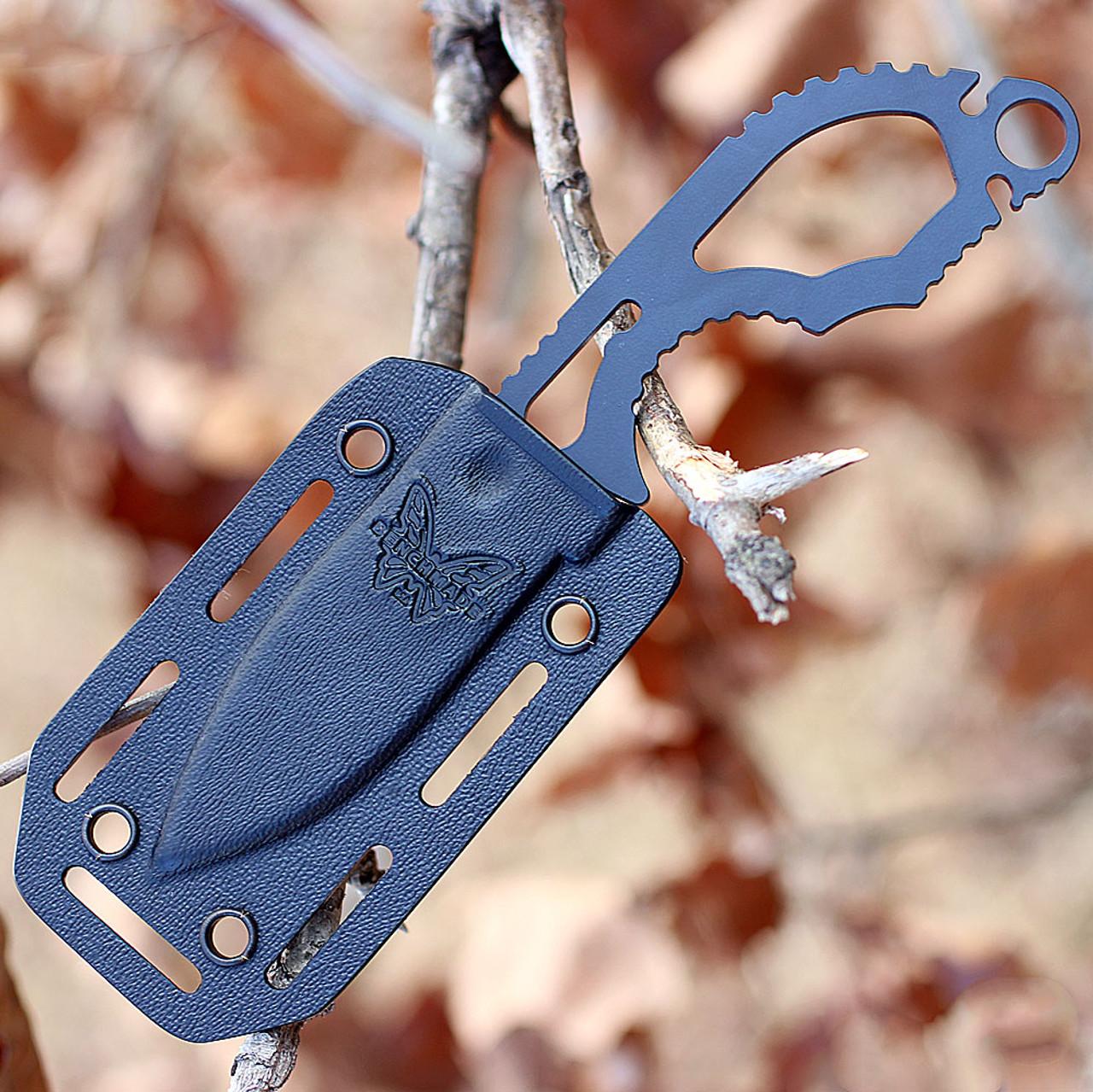 "Benchmade 101BK Follow-Up, 2.6"" CPM-S30V Plain Blade, Skeletonized Stainless Handle"
