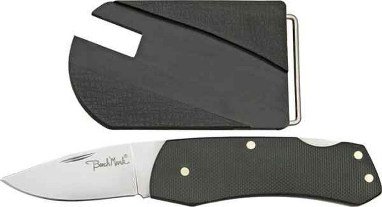 Benchmark Belt Buckle Knife