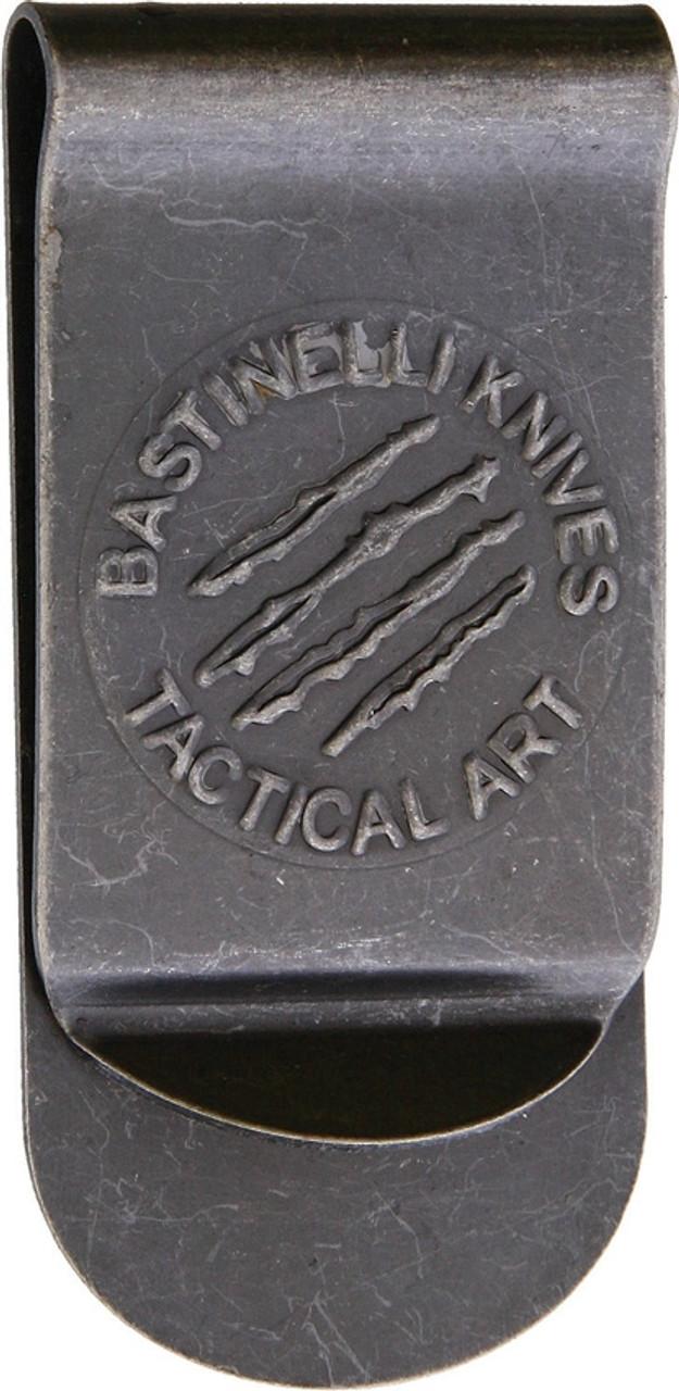 Bastinelli Creations Tactical Art Money Clip Stonewashed, BAS17B