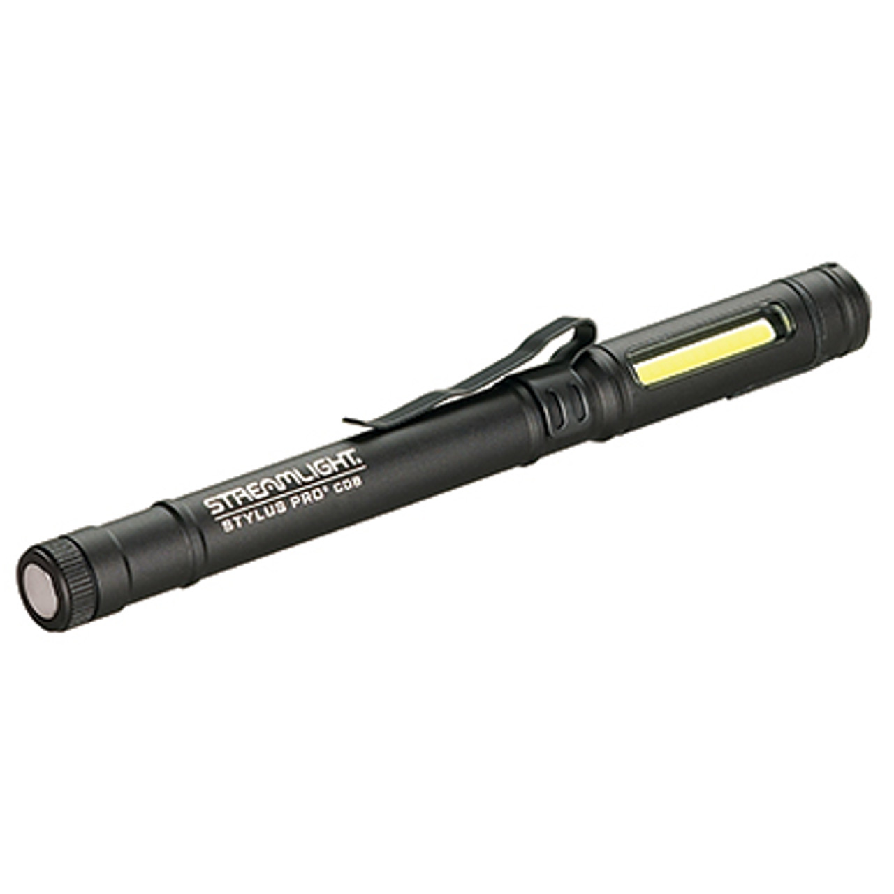 Streamlight 66702 Magnetic Penlight w/Clip, USB Rechargeable-Black
