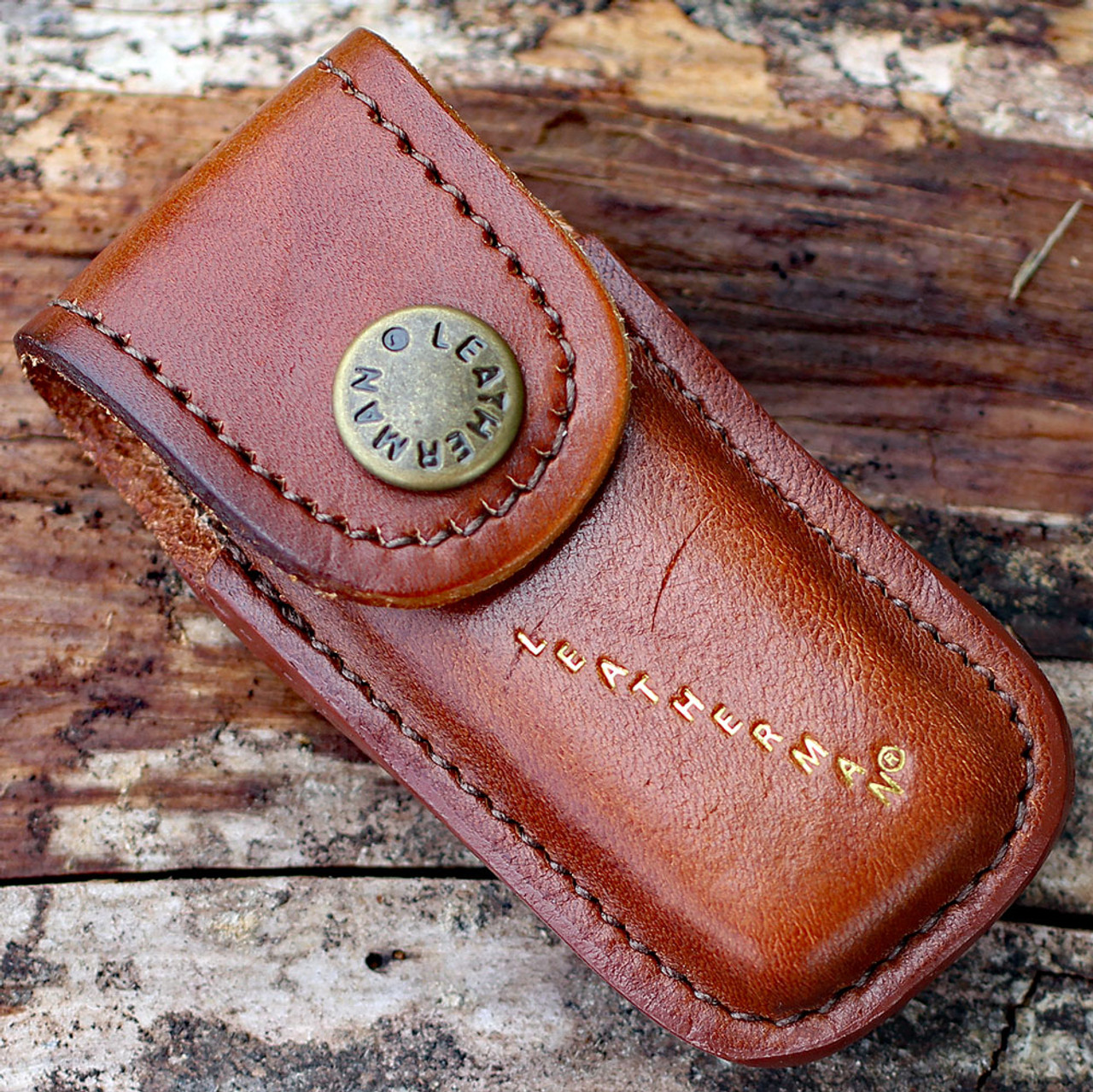 Leatherman Heritage Leather Sheath, Brown/Extra Small