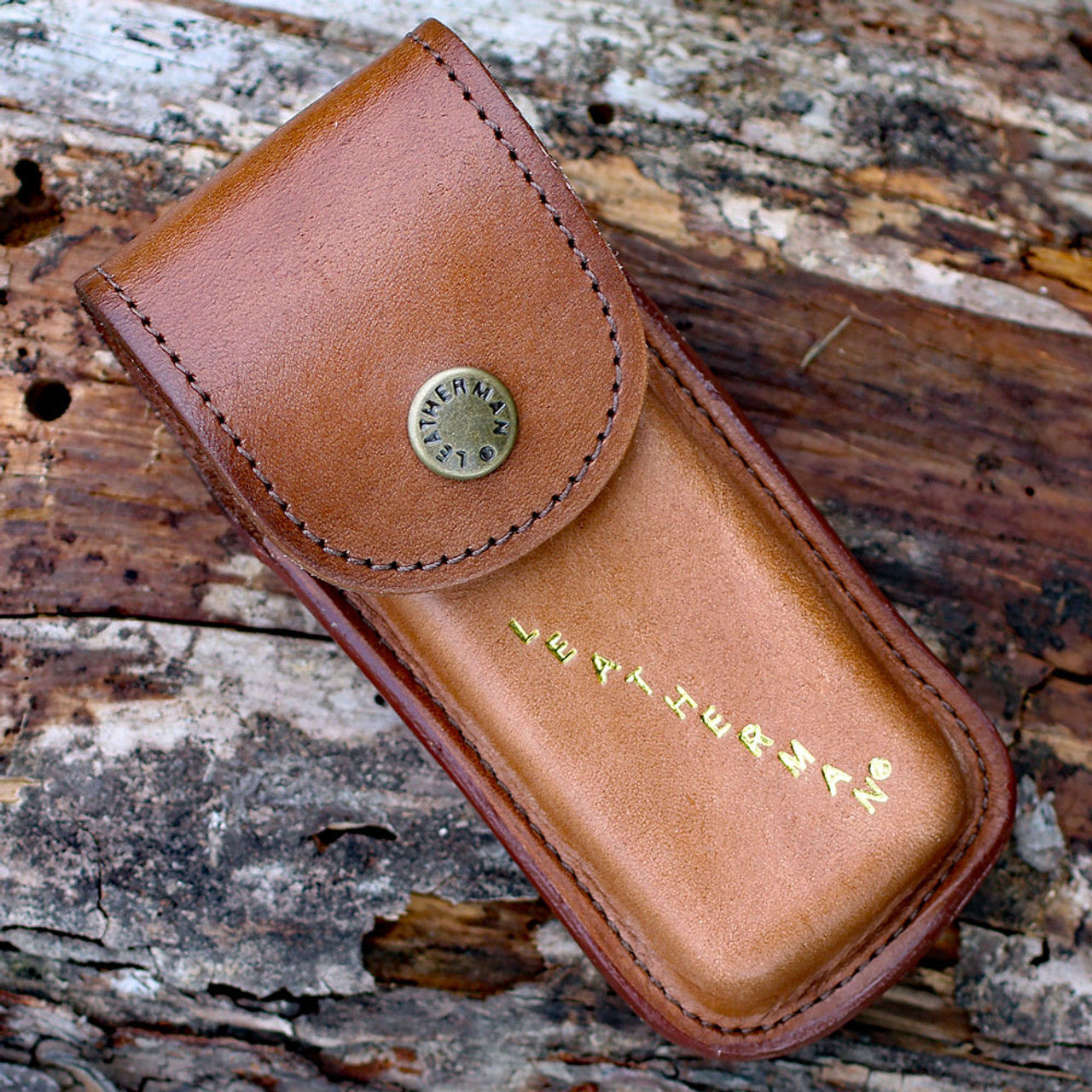 Leatherman Heritage Leather Sheath, Brown / Medium