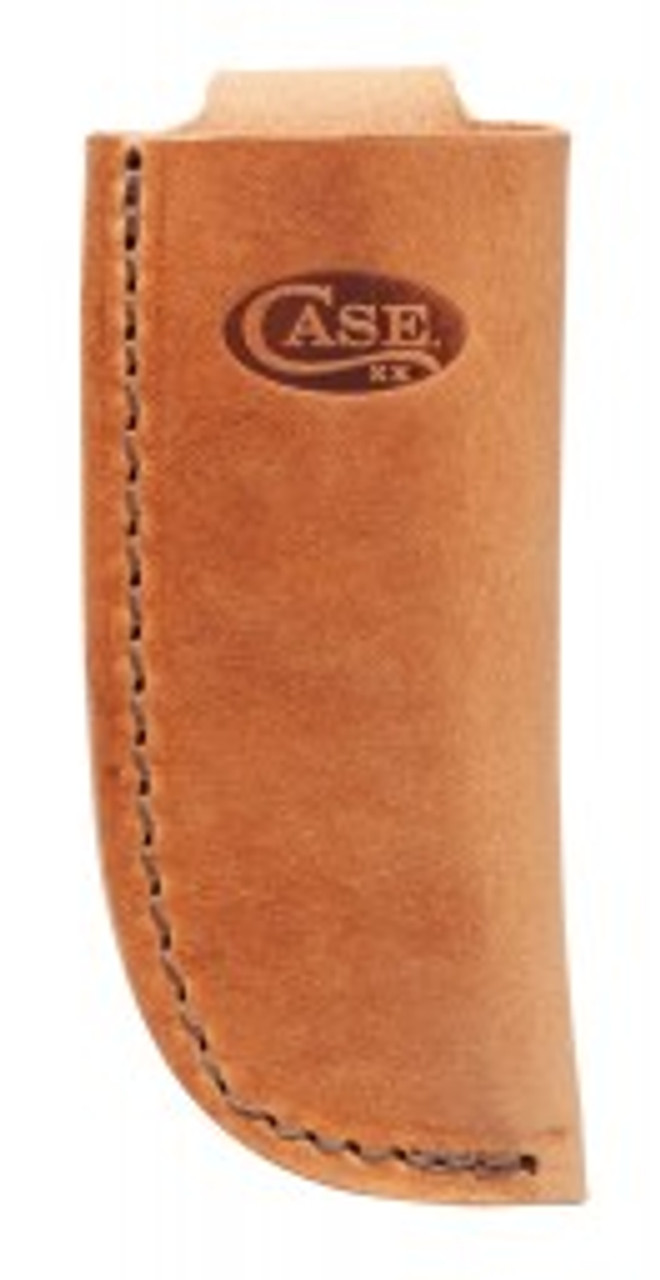 Case Brown Leather Open Top Sheath 50289-Large