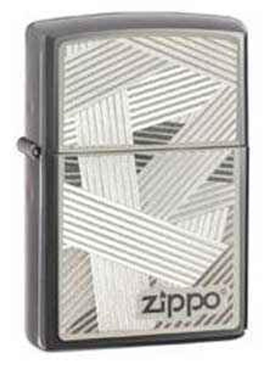 Zippo Z24943 Tied Up Zippo Logo Lighter