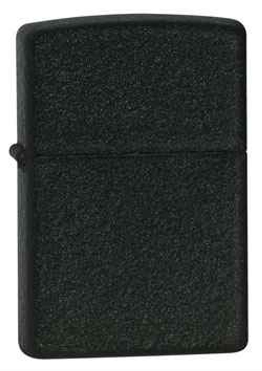 Zippo Z236 Classic Lighter, Black Crackle