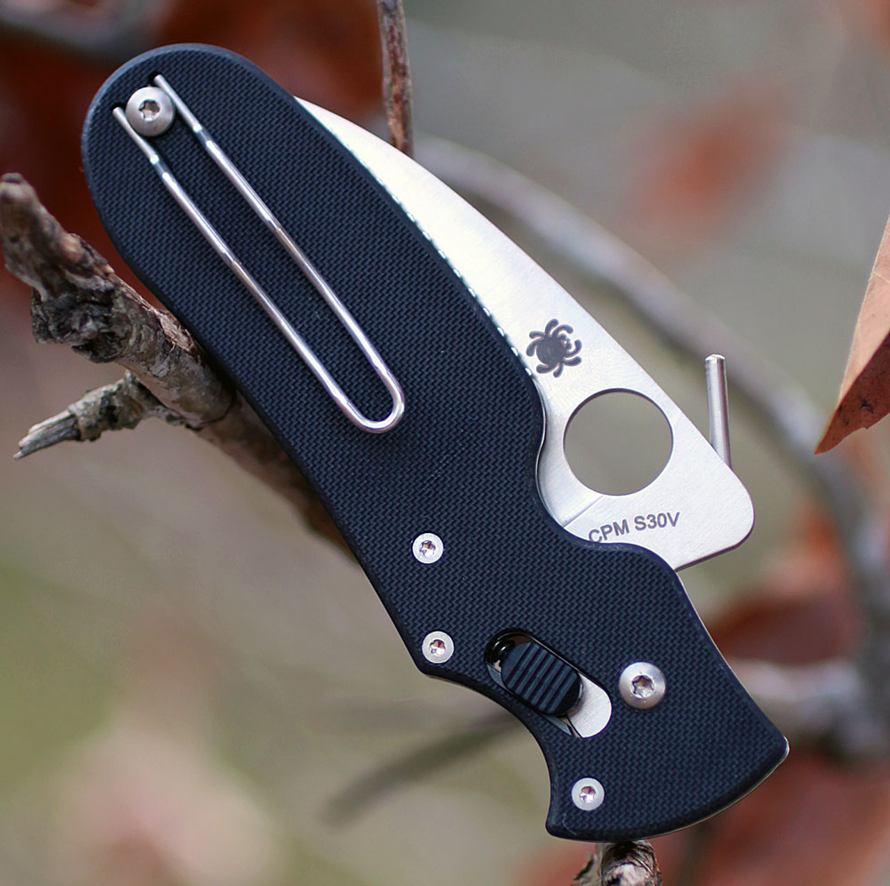 "Spyderco C103GP  P'Kal, 2.95"" CPM S30V, G-10 Handle"