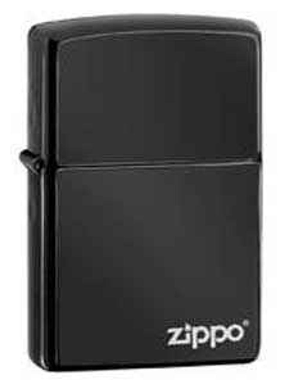 Zippo Z24756ZL Ebony w/Zippo Logo Lighter