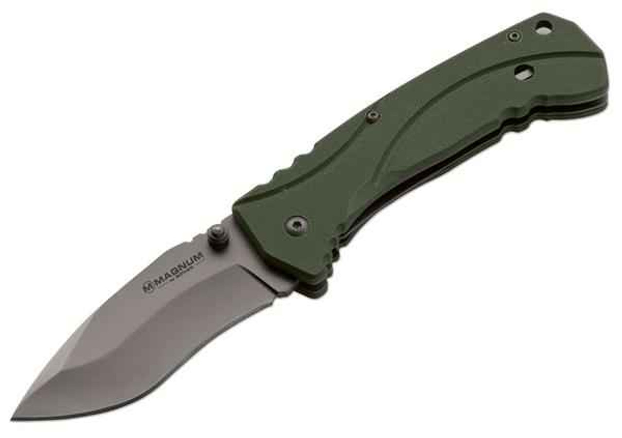 Boker Magnum Exchange, 440 Stainless, G10 Handle